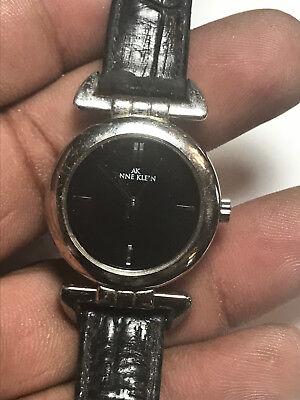 Nice Ladies Black Black Anne Klein 10/8907 Analog Watch