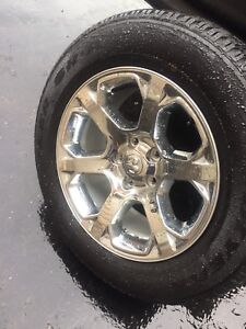"""New 20"""" Dodge Ram rims tires TPMS"""
