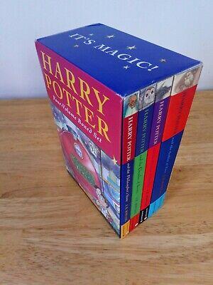 Harry Potter Boxed Set (Volumes 1-4) Raincoast Books J.K. Rowling