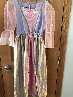 Barbie Princess Girl's Dress up Costume Size M kids