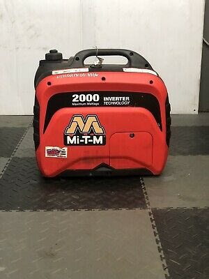 Used Mi-t-m Gen-2000-imm0 Portable Generator Inverter 2000w 12v Sales