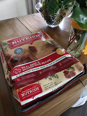 Recipe Natural (Rachael Ray Nutrish Natural Dry Dog Food, Real Beef & Brown Rice Recipe, 40)