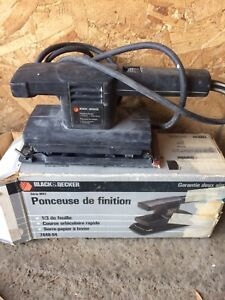 Sableuse 15$ perceuse Black Decker 15$