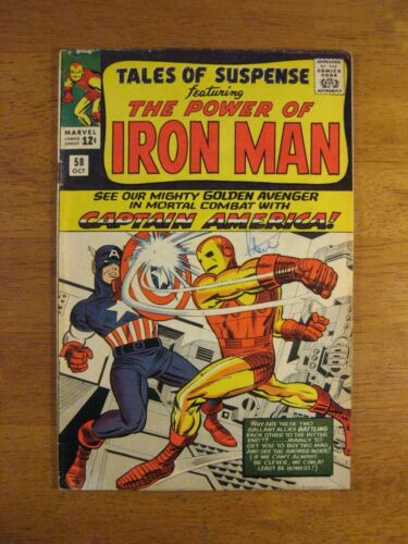 TALES OF SUSPENSE #58 (Iron Man) Key Bk! (FN+ or FN++) Super Colorful & Glossy!
