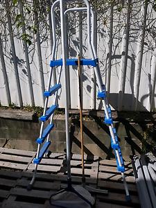 Above ground pool ladder Cornubia Logan Area Preview