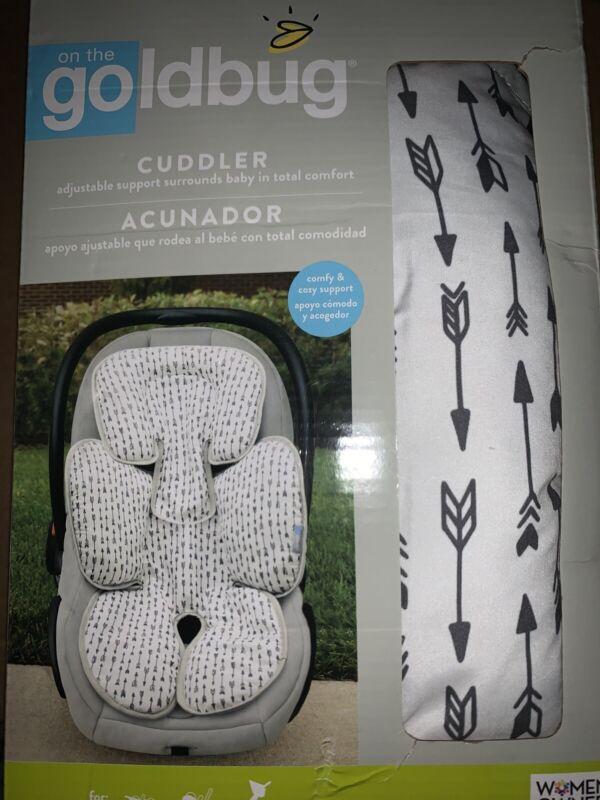 Goldbug, Infant Body Cuddler, Grey Arrows Comfy & Cozy Support For Car Seat ~New