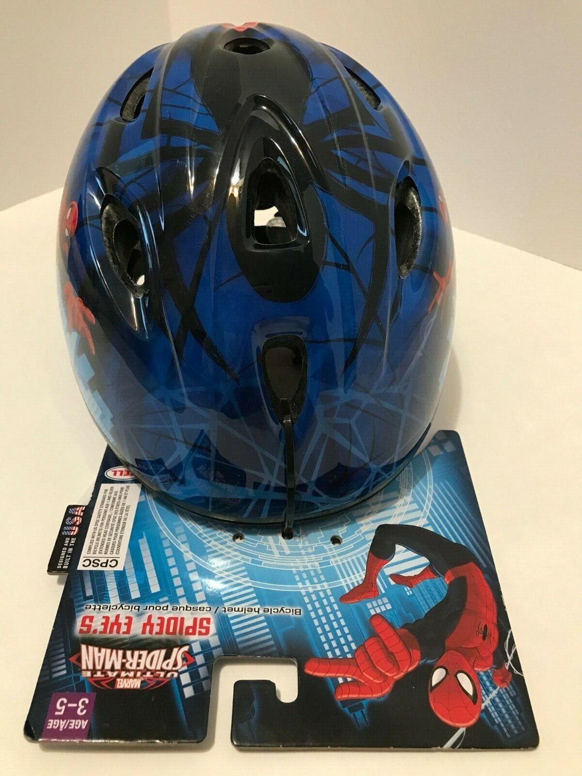 BELL Marvel Ultimate Spider Man Spider Eyes Bicycle Helmet,