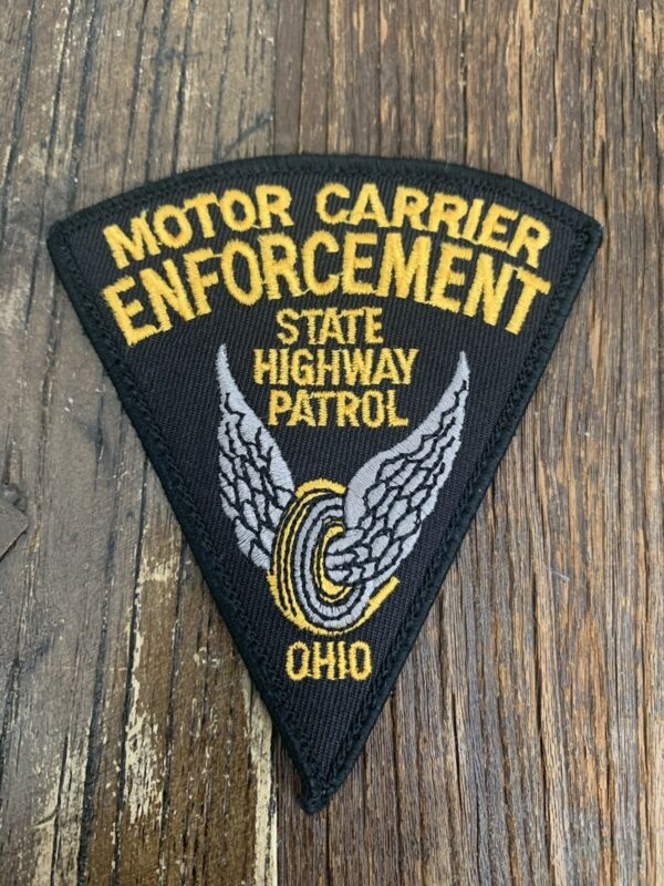 Ohio State Highway Patrol Motor Carrier Enforcement OH Police Shoulder Patch New