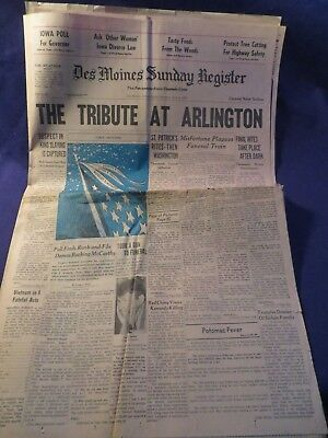 June 9Th 1968 The Des Moines Sunday Register Newspaper