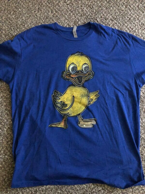 Las Vegas Neon Museum XXL Blue Duck T-Shirt Boneyard