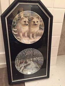 Framed Collector Plates