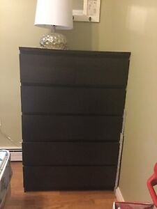 IKEA Malm 6 Drawer Dresser