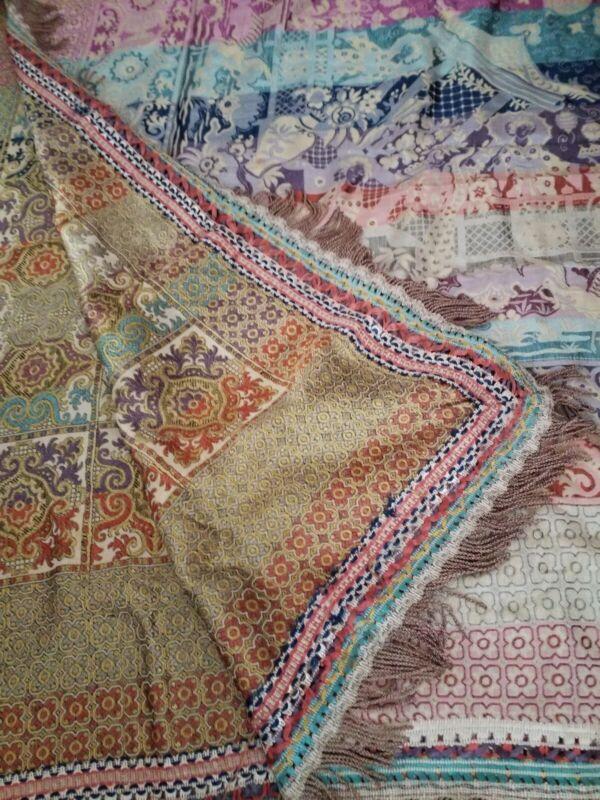 Antique Italian Tapestry Bedspread
