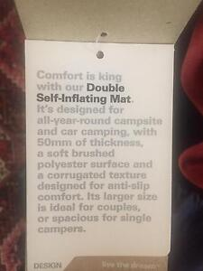 Double self inflating Mat Orange Orange Area Preview