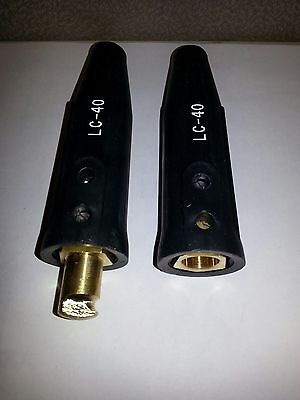 Lenco Lc40 Cable Connector Set - New Free Shipping 05050