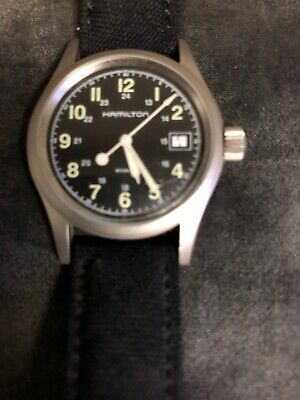 HAMILTON KHAKI FIELD WATCH  H683110 MEN'S STAINLESS STEEL WATCH