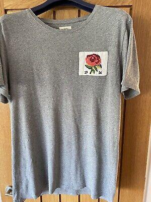 Kent & Curwen David Beckham Range Grey T-shirt XL in excellent condition