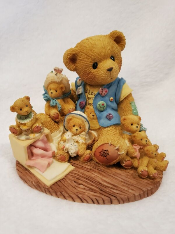 """2000   CHERISHED TEDDIES """"COLLECTING CHERISHED FRIENDS ALONG THE WAY """" 759511"""
