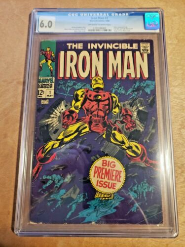 Iron Man #1 (May 1968, Marvel) CGC 6.0