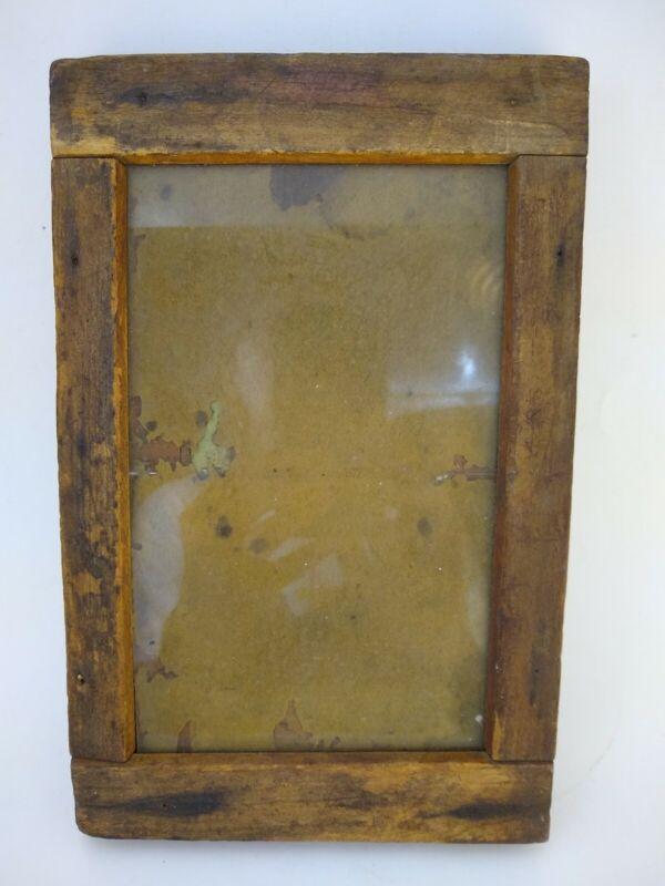 Antique Scovill & Adams Wooden Contact Negative Print Frame 9 x 7