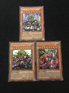 Sphinx Set Theinen The Great + Andro+ Teleia EP1-EN001+EN002+003 YU-GI-OH!