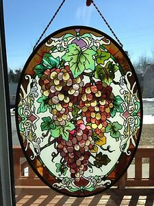 Grape stained glass