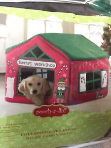 Warm and cozy dog house