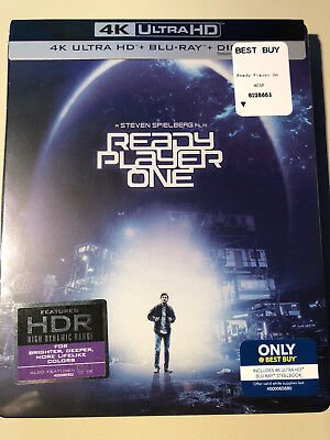 Ready Player One 4K/UHD Best Buy Exclusive (4K Ultra HD + Blu-ray +
