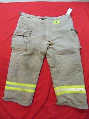 Morning Pride Firefighter Turnout Bunker Pants 48 X 28 Fire Gear Halloween