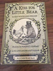 Maurice Sendak 1968 A Kiss For Little Bear Children Book