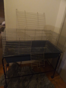 2 XL Rabbit & Guniea Pig Cages $80/each ONO  Stand brand new $50 Greenwood Joondalup Area Preview