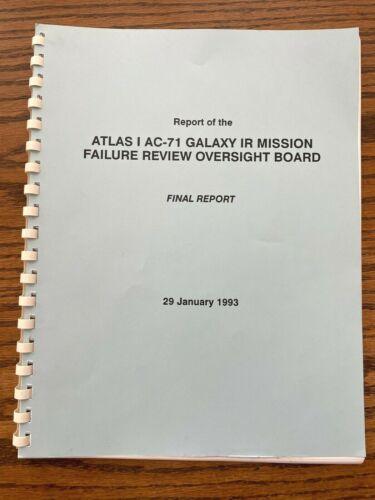1993 Atlas I AC-71 Failure Review Board Final Report RL-10 -- TK Mattingly
