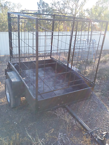 TRAILER, 6X4 WITH 5' CAGE Tocumwal Berrigan Area Preview