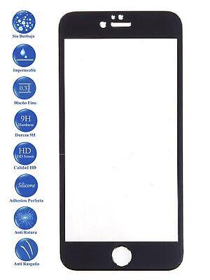 Protector de Pantalla Cristal Templado COMPLETO 3D para IPhone 7 Plus Negro