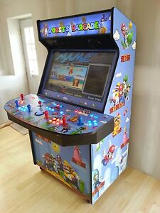 4 player arcade cabinet games