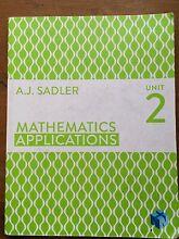 Mathematics Applications Unit 2 Cottesloe Cottesloe Area Preview