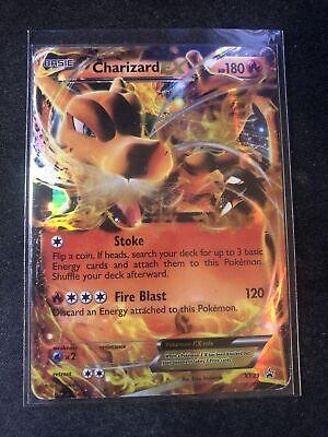 Charizard EX XY29 Black Star Promo Heavily Used