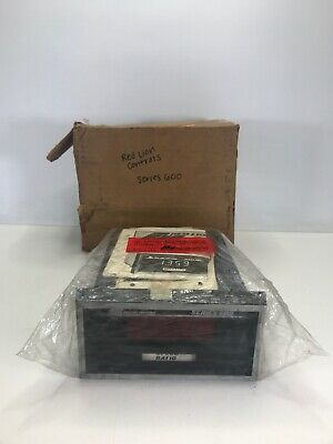 Red Lion Controls Series 600 Speed Ratio Indicator 5162040 New Open Box