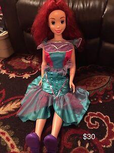 Little Mermaid Doll and Tea Set