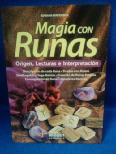 Libro MAGIA CON RUNAS religion yoruba ifa santeria esoterica