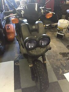 Moped/50cc scooter