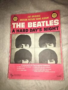 The Beatles a hard days night collectors magazine