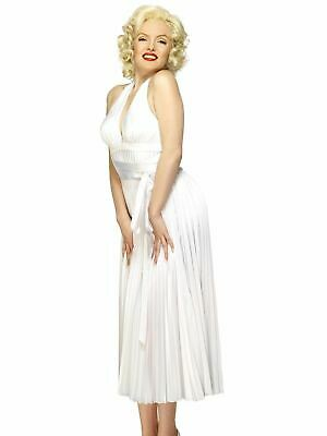 Marilyn Monroe Ladies Fancy Dress Costume Party Outfit Adult Sexy Hollywood - Hollywood Star Fancy Dress Kostüm