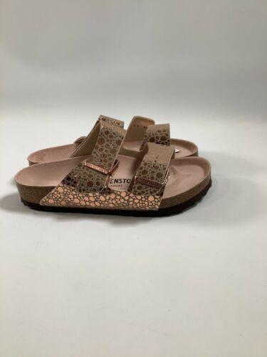 Women's Birkenstock Metallic Stones Copper Arizona BS Sandals NEW! NIB