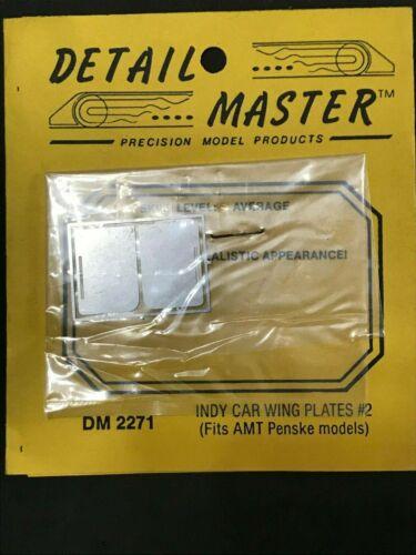 DETAIL MASTER DM-2271 1:24-25 SCALE INDY CAR WING PLATES AMT PENSKE