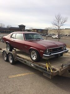 1974 Chevy Nova Custom **Factory 4 Speed**