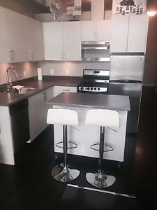 Ultra modern one bed in great location downtown available Today