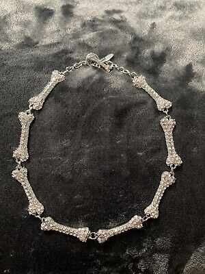 Vivienne Westwood Authentic Bone Choker Nacklace