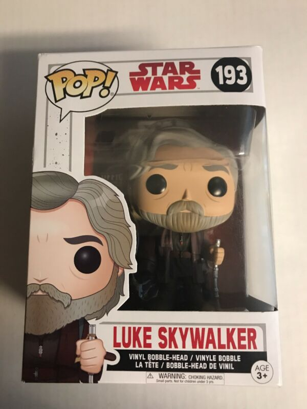 Funko POP Star Wars The Last Jedi LUKE SKYWALKER #193 Free Shipping!
