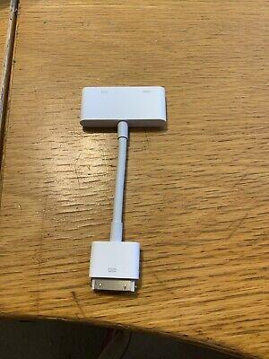 Genuine Apple 30-pin Digital AV Adapter MD098ZM/A (A1422)
